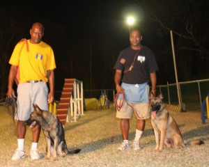 Working dogs in Barbados